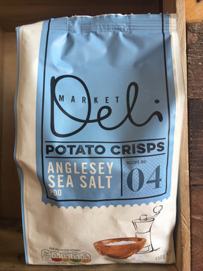 Walkers Market Deli Anglesey Sea Salt Crisps 150g