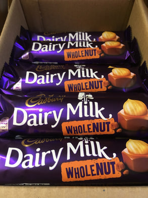 8x Cadbury Dairy Milk Wholenut (8x45g)