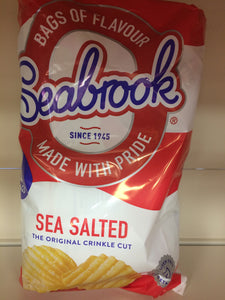 Seabrook Sea Salted Crisps 6x 25g Pack