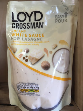 Loyd Grossman Creamy White Sauce for Lasagne 380g