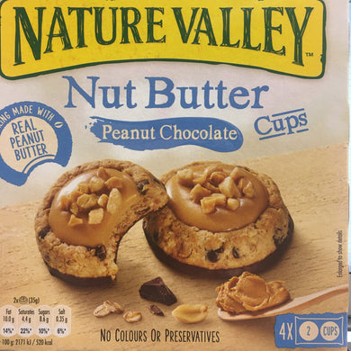 12x Nature Valley Nut Butter Peanut Chocolate Cups (3 Boxes of 4x 2 Cups)