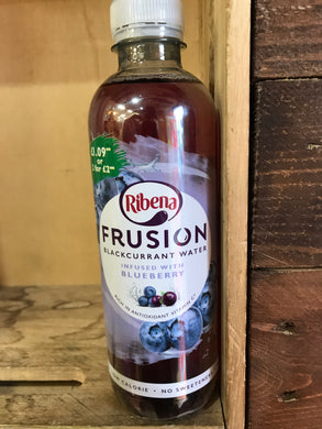Ribena Frusion Blackcurrant Water Infused with Blueberry 420ml