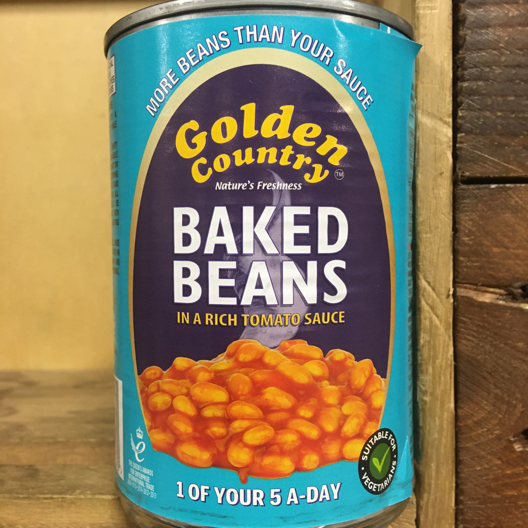 Golden Country Baked Beans in Rich Tomato Sauce 420g