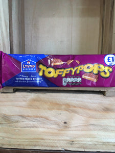 Lyons' Toffypops Toffee Filled Biscuit 120g