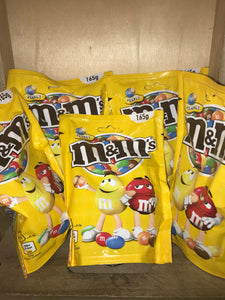 5x M&M's Peanut Large Share Bag (5x165g)