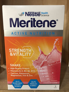 Nestle Meritene Strength Shake Strawberry 210g