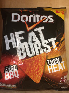 Doritos Heat Burst BBQ & Chilli 75g