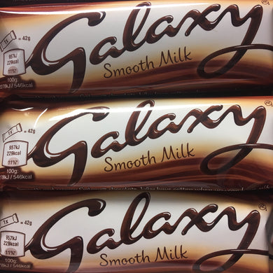 12x Galaxy Smooth Milk Chocolate Bars (12x42g)