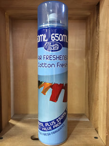 Insette Air Freshener Cotton Fresh 650ml
