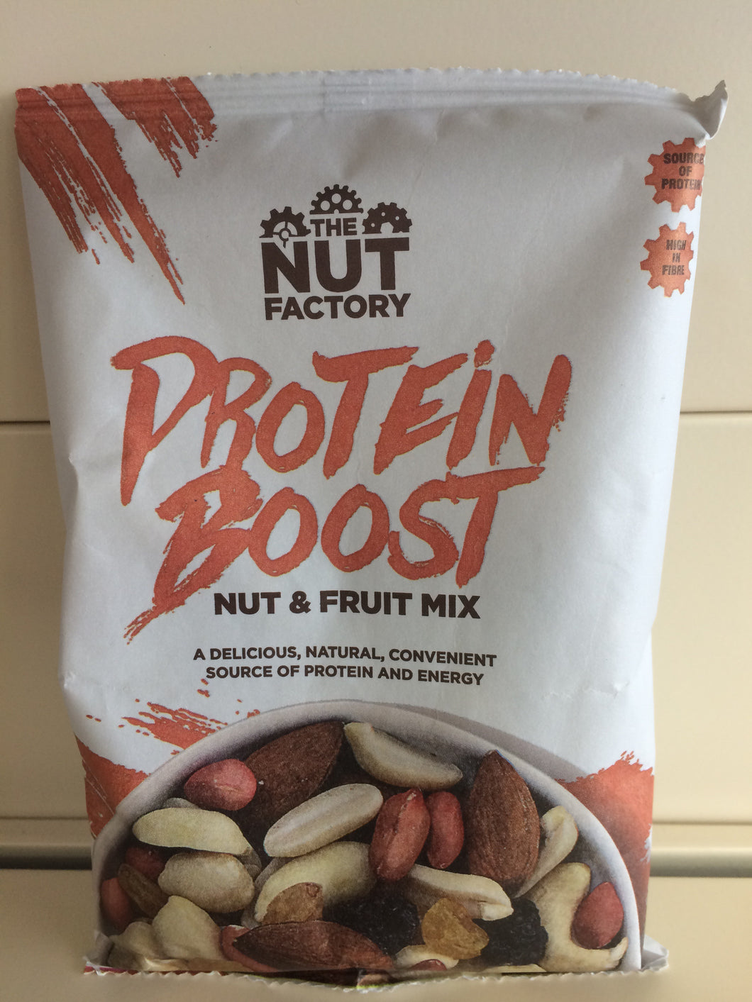 The Nut Factory Protein Boost Nut & Fruit Mix 125g