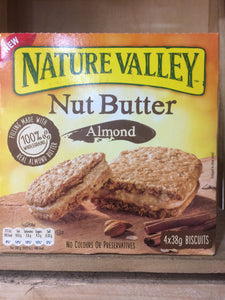 Nature Valley Nut Butter Biscuits Peanut Bar 4X38g