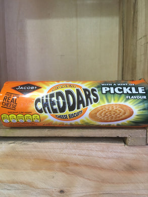 Jacobs Cheddars Cheese Biscuits with Hint of Pickle 150g