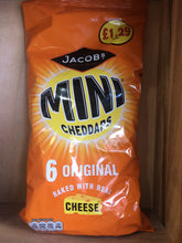 Jacobs Mini Cheddars Snacks 6 Pack 150g