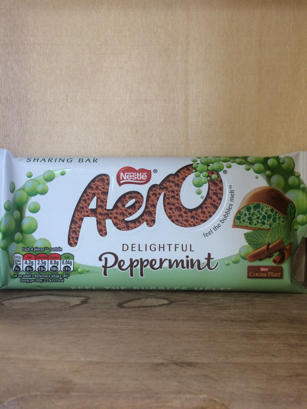 Aero Sharing Bar Peppermint 100g