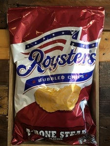 24x Roysters T-Bone Steak Crisps (4x 6 Packs x21g)