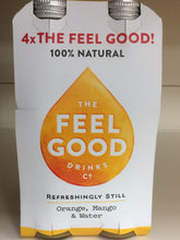 The Feel Good Drinks Co. Orange, Mango & Water Bottles