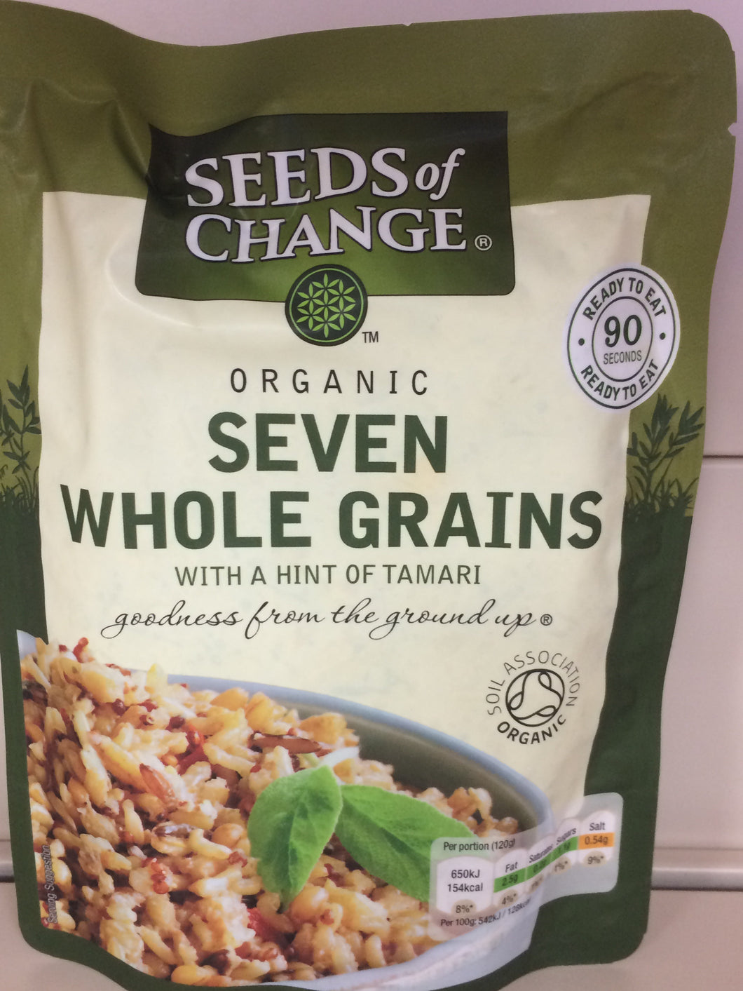 Seeds Of Change Seven Wholegrains Rice with Tamari 240g