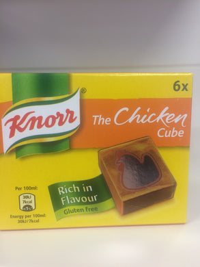 Knorr Stock Cubes Chicken 6'S 60g