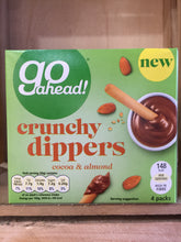 8x Go Ahead Crunchy Dippers Cocoa & Almond 4 Pack 120g