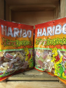 1.35kg of Haribo Tangfastics (3x 450g Travel Share Bags)