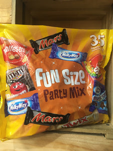 M&M's Funsize Party Mix 35 Bars Bags 600g