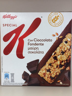 Kellogg's Special K Cereal Bar with Dark Chocolate, Rice & Wholegrains 6 Pack