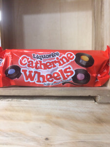 Barratt Liquorice Catherine Wheels 6 Pack 113g