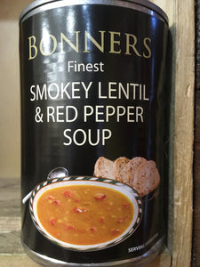 Bonners Finest Smokey Lentil & Red Pepper Soup 400g