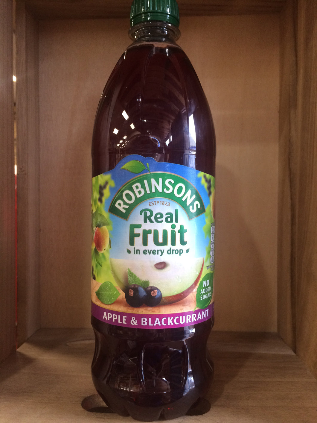 Robinsons Apple And Blackcurrant No Added Sugar 900ml