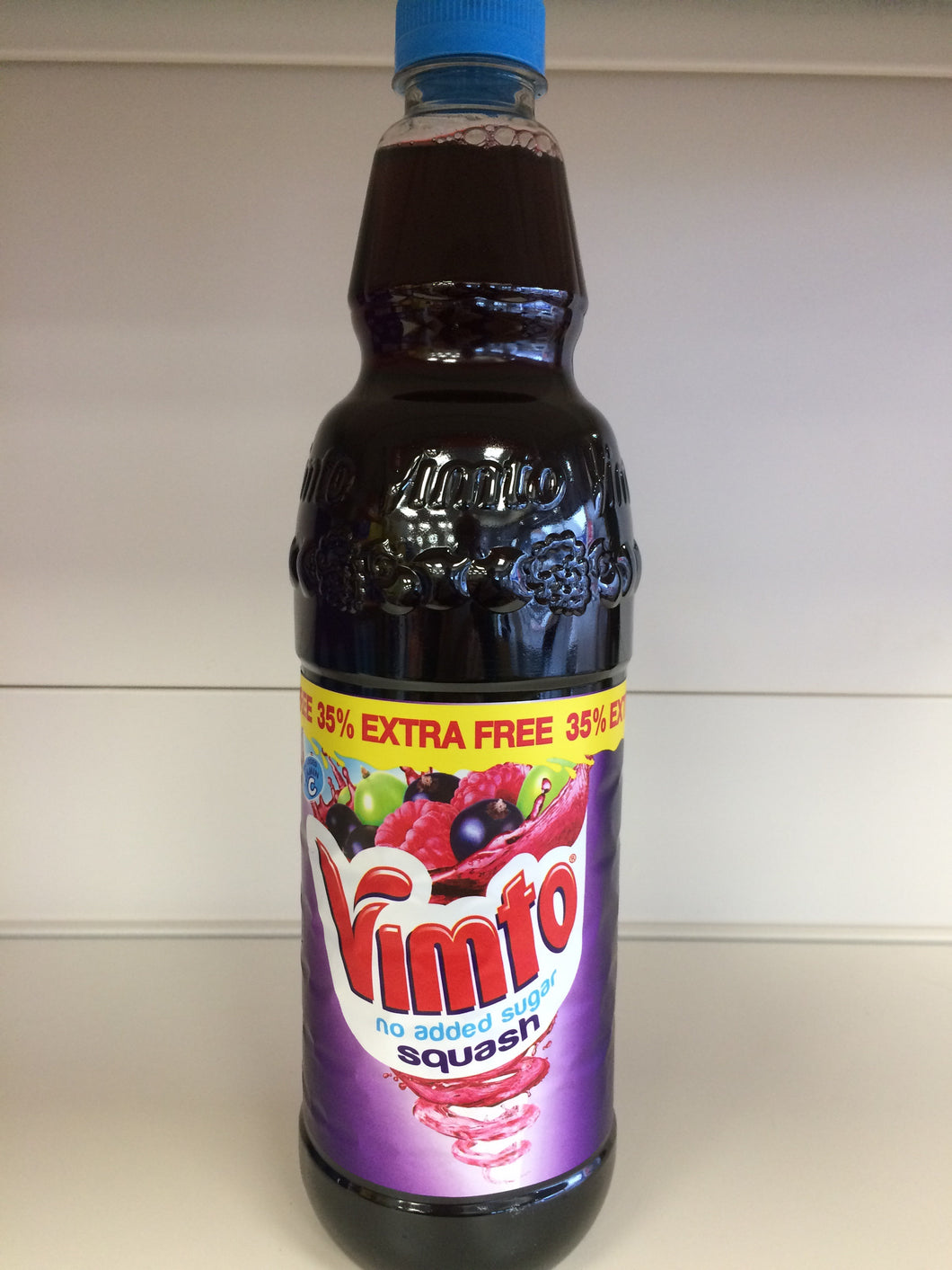 Vimto Squash with no added sugar 1 Litre