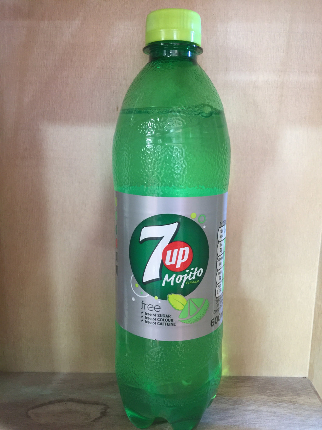 7up Mojito Sugar Free 600ml