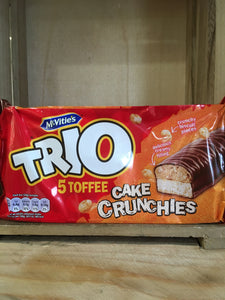 McVitie's Trio 5 Toffee Cake Crunchies