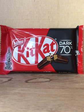 18x Nestle KitKat Dark 70% Chocolate (2 Packs of 9x41.5g 4 Finger Bars)