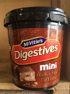 McVitie's Digestives Mini Choc Tiffins Tub 85.8g