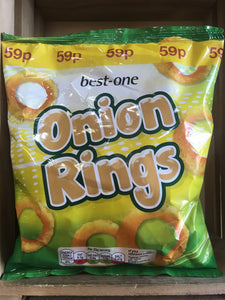 Best-One Onion Rings Fried Onion Flavour Snack 75g
