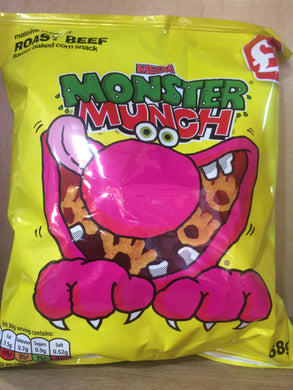 Monster Munch Roast Beef 68g
