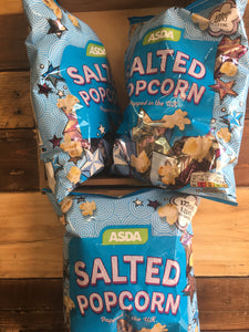 3x Low Price Salted Popcorn (3x80g)