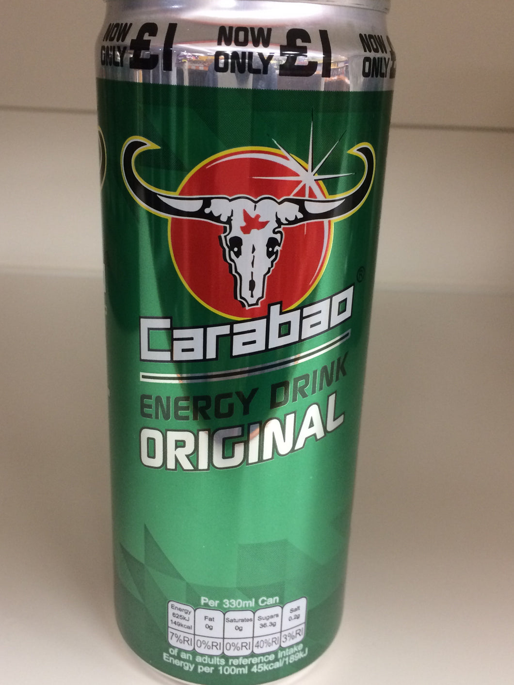 Carabao Energy Drink Original 330ml