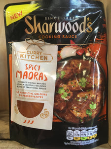 Sharwoods Spicy Madras Curry Cooking Sauce 250g