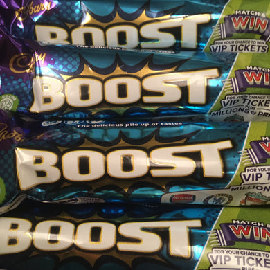 12x Cadbury Boost Chocolate Bars (12x48.5g)