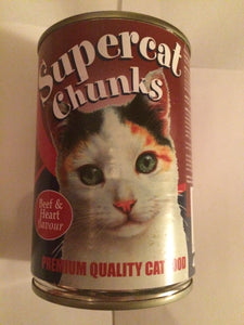 Super Chunks Cat Food Beef & Heart Flavour 400g