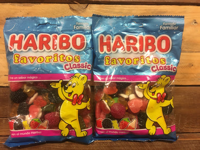 2x Haribo Favourites Classic Family Bags (2x300g)