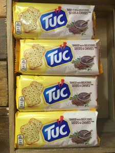 4x Jacobs TUC Seeds & Chive Crackers (4x105g)