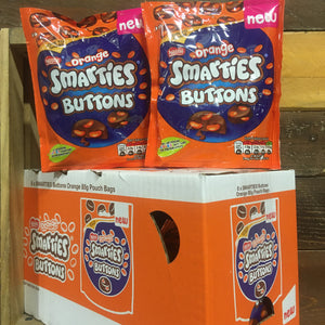 8x Nestle Orange Smarties Buttons Sharing Bags (8x85g)