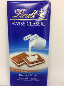 Lindt Double Milk Chocolate 100g