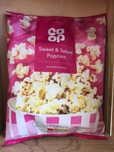 Low Price Sweet & Salted Popcorn 100g