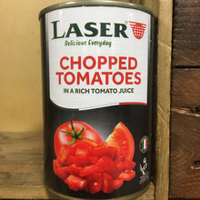 Laser Italian Chopped Tomatoes in Tomato Juice 400g