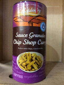 Golden fry Chip Shop Curry Sauce Granules 250g