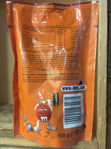 M&M Crunchy Caramel Limited Edition Grab Bag 109g