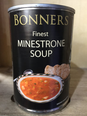 Bonners Finest Minestrone Soup 400g